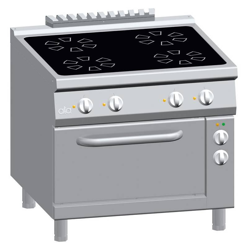 Occasioni usato cucina elettrica vetroceramica 4 piastre - Cucina con piastre e forno elettrico ...