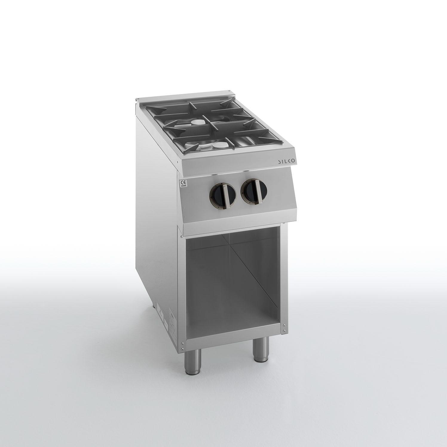 Cucine cucina 2 fuochi a gas su vano a giorno serie 700 - Migliore cucina a gas ...